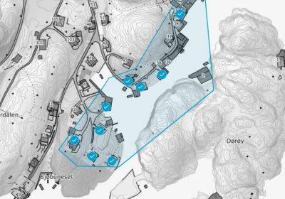 Ledningsbrudd Espevær tirsdag 2. juni